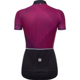 Santini Giada Naiset Pyöräilypaita lyhythihainen , violetti/musta